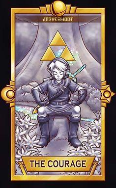 Link - The Courage by Quas-quas Super Smash Tarot