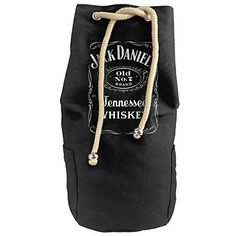 Etosten Jack Daniels Mens Daniels Label TShirt Vertical Bucket Cylindrical Shaped Canvas Beam Port Drawstring Sports Basketball Shoulders Backpack Bags * See this great product by click affiliate link Amazon.com