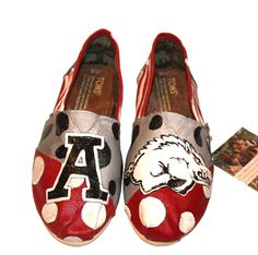 A is for Arkansas! Go Hogs!