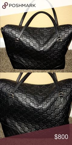 Gucci authentic leather bag Gorgeous in great condition (inside has make up residue) but can be cleaned before sent out Gucci Bags Shoulder Bags