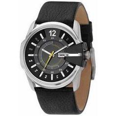 e4083671c0c Relógio Masculino Diesel Dz1295   0pn 44mm Preto Couro