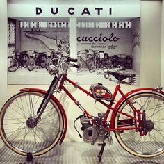 First Ducati Motorbike - Instagram by @NonSoloTuristi