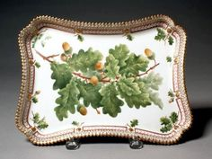 - Would look great in a rustic home. Royal Copenhagen, Antique China, Vintage China, Flora Danica, Carnegie Museum Of Art, Acorn And Oak, Cottage Garden Design, Oak Leaves, China Painting