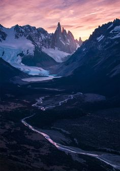 "<a href=""http://maxrivephotography.photoshelter.com/p/patagionia-2017"">'Patagonia 2017 workshop </a>  As many probably already know – this is a view on Cerro Torre during sunset – taken with the 28-300mm on 60mm. I wanted to capture Cerro Torre a bit different than from the lake where most people go too – especially since this mountain works great with a tele-zoom lens I thought it would be good to have something leading in the distant. ..."