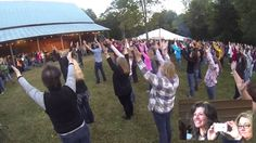 Amy Grant Surprise Flash Mob at Tennessee Harvest Weekend 2013