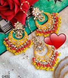 Indian Earrings, Antique Jewelry, Handmade Jewelry, Chokers, Colours, Stuff To Buy, Accessories, Old Jewelry, Ancient Jewelry