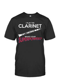 My Clarinet Superpower Men's Shirt
