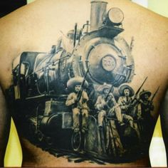 1000 images about tattoos on pinterest train tattoo for Crazy train tattoos