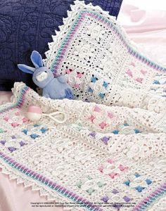 Beautiful Borders Baby Blankets