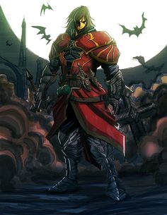 fan art of castlevania Castlevania Lord Of Shadows Castlevania Anime, Castlevania Lord Of Shadow, Character Concept, Character Art, Character Design, Lord Of Shadows, Vampire Art, Shadow Art, Arte Horror