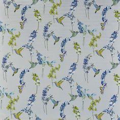 Humming bird - Waterfall fabric | Fragrance | Prestigious Textiles