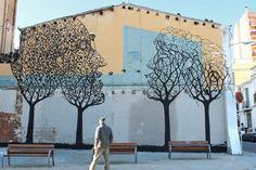 Nouvelle réalisation de l'artiste espagnol, Sam3 à Barcelone   2013