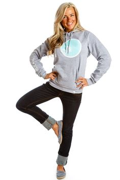 Ten Tree hoodie; Cute, comfy, and for every item sold, 10 trees are planted in the Prairies.