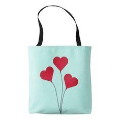#The Heart Balloons Tote Bag - cyo customize design idea do it yourself diy