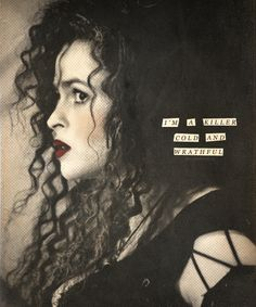 Bellatriz Lestrange Something wicked this way comes ϟ : one of the best hp characters by far
