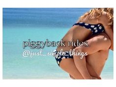 give me piggyback rides