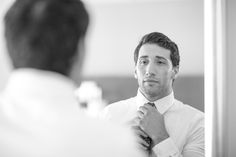 Nicole Weeks Photography - David fixing his tie one last time