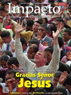 Revista Impacto Evangelistico Edición Julio 2012 Idioma Español