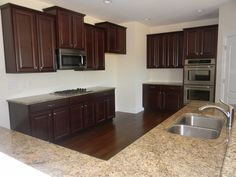 1000 images about the lexington on pinterest charlotte for Cherry bordeaux kitchen cabinets