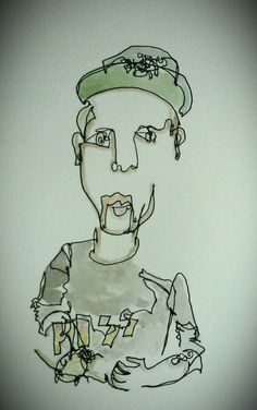 Blind contour drawing is amazing.