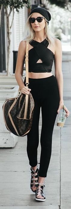 #spring #streetstyle |How To Nail Athleisure | Carly Cristman
