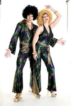 70's Disco Couples Costumes - The Best 50's, 60's, 70's, & 80's Costumes and Accessories in the World - Funwirks.com