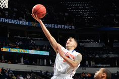 Scottie Wilbekin and the Gators rolled to a victory over LSU Friday in the SEC Tournament (Frederick Breedon).