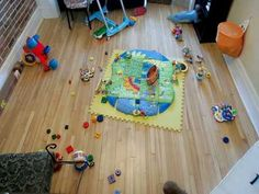 "Time laps of Charles-Edward, my 9 month old son, playing with his toys and creating chaos in the dinning room.  http://www.francisvachon.com  PS: the song is ""Ensemble"" by Coeur de Pirate. Buy it online on iTune: http://itunes.apple.com/WebObjects/MZ..."