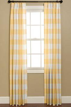 Curtains In Buffalo Check P Kaufmann Fabrics French