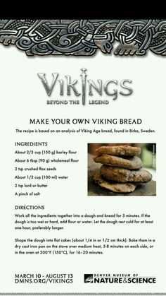 Vikings ¤totally want to try this Medieval Recipes, Ancient Recipes, Nordic Diet, Viking Food, Nordic Recipe, Norwegian Food, Snacks Saludables, Scandinavian Food, Vintage Recipes