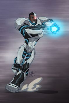 Cyborg by *EricGuzman - Teen Titans / DC Comics Batman, Superman, Hulk, Teen Titans Go, Bebop And Rocksteady, Black Manta, Univers Dc, Spyro The Dragon, Lex Luthor