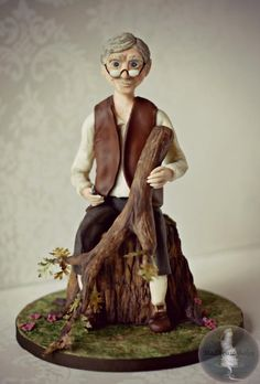 My Geppetto - The Beginning - Cake by Tonya Alvey - MadHouse Bakes