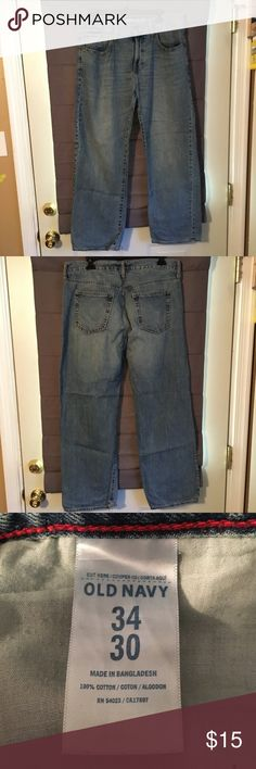 Old Navy Jeans 34x30 Old Navy Loose Fit Jeans Size 34x30 Old Navy Jeans