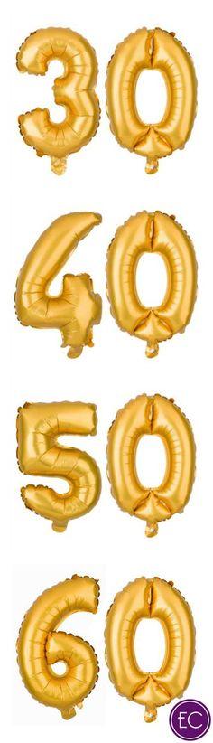 Huge Letter Balloons