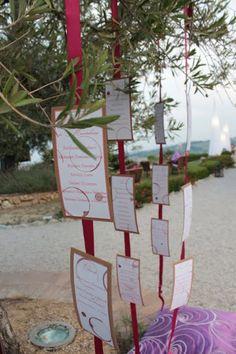 Gli eventi di Claudia confetti & co - tableau