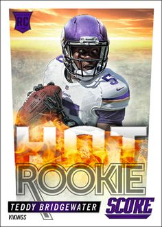 Teddy Bridgewater Rookie Card