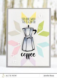 Coffee Talk Stamp Set - Altenew   - 1