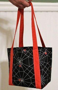 (9) Name: 'Sewing : Wee Halloween Bag