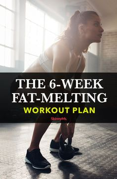 In less than 30 minutes a day, you'll slim down and shape-up with this fat-melting workout plan! It's fun, fast and effective! In less than 30 minutes a day, you'll slim down and shape-up with this fat-melting workout plan! It's fun, fast and effective! 6 Week Workout Plan, Weekly Workout Plans, Workout Schedule, Workout Challenge, Best Workout, 6 Week Challenge, Workout Plan For Women, Workout Ideas, The Plan