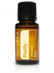I love this oil blend!   doTERRA Purify Cleansing Essential Oil Blend - Purify is dōTERRA's formidable blend of CPTG® essential oils designed to eliminate odors and other contaminates naturally—without toxic additives.