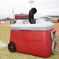 Keep cool at softball practice with IcyBreeze