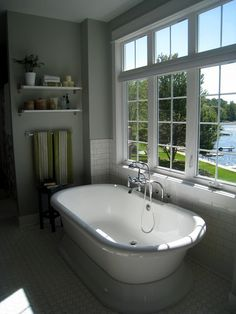 Beautiful Bathroom with a view!