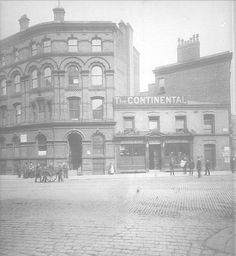 The Continental Restaurant Manchester (Now The Manchester Central Library)