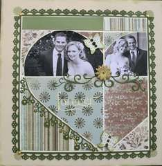 Scrapbook.com Layout Projects: Wedding