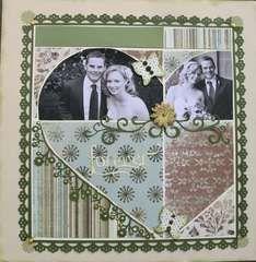 Scrapbook.com Layout Projects: Wedding