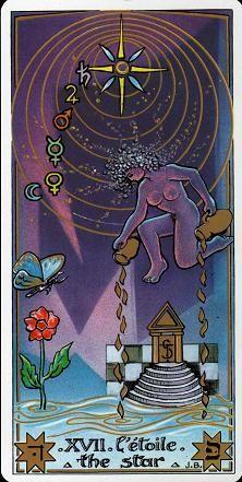 The Star - Masonic Tarot Star Tarot, Le Tarot, Tarot Major Arcana, Oracle Cards, Tarot Decks, Tarot Cards, The Magicians, Magick, Joker