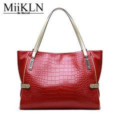 c7450f8462 MiiKLN Genuine Leather Ladies Bags Soft Comfortable Ladies Handbags For  Women Bag Big Capacity Casual Tote