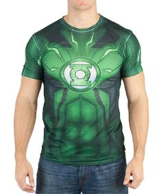Green DC Comics Green Lantern Sublimated Tee - Men's Regular