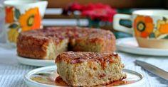 """Fabulosa receta para Bizcocho de manzana .  Con motivo de que es jueves y el fin de semana ya está a la puerta de la esquina, vamos a festejarlo con un delicioso bizcocho de manzana, ideal para desayunar con un cafelito o como merienda. La receta es del libro """"pasteles, pastas, galletas, merengues, tartas, panes dulces y salados""""."""
