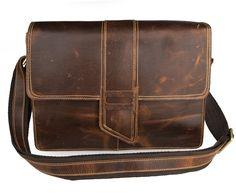 76.06$  Know more  - JMD Genuine Leather Men Messenger Bag Shoulder Crossbody Bags 7263B-1